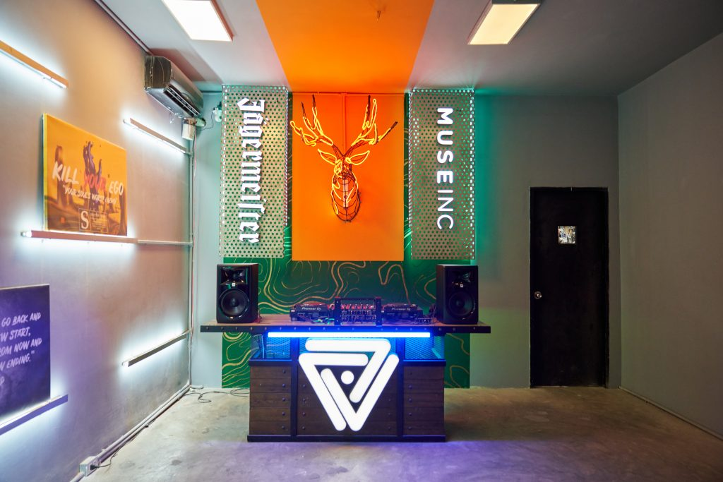 Cơ sở vật chất của Muse Academy khi tham gia khóa học DJ cơ bản