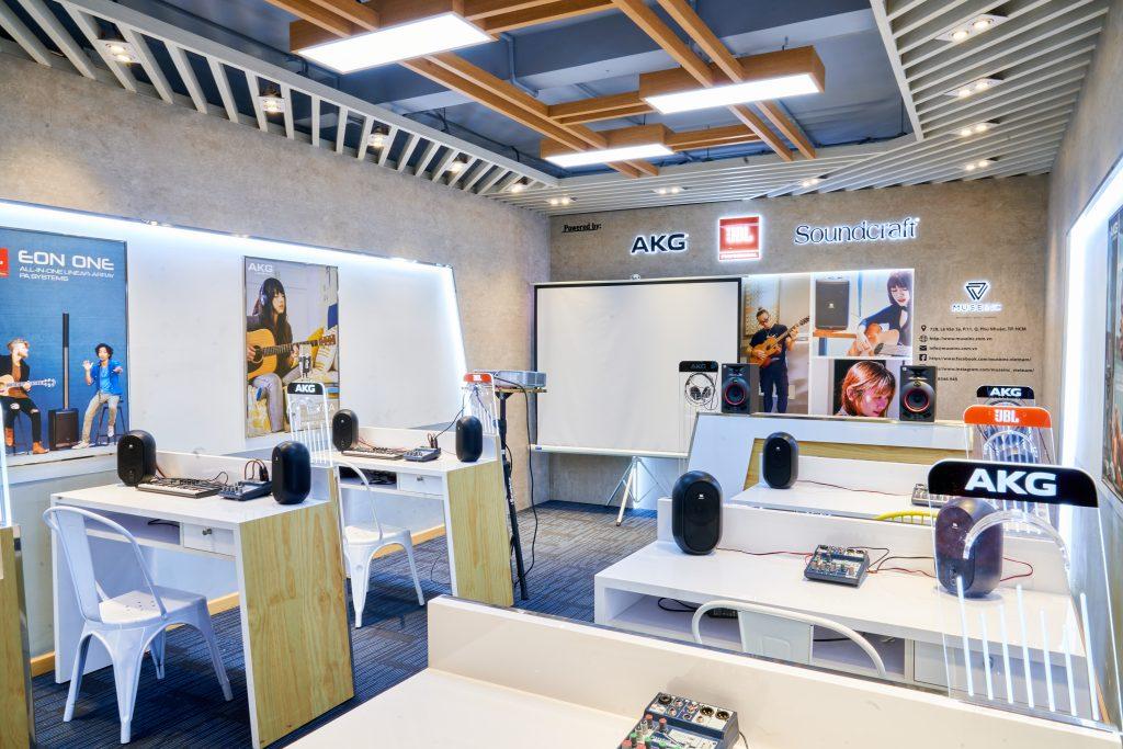 Cơ sở vật chất của Muse Academy