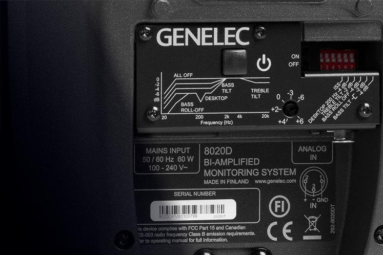 loa kiểm âm genelec 8020D
